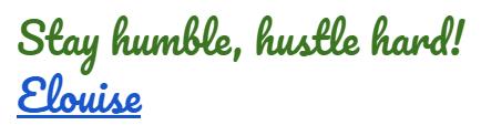 hustleSignature